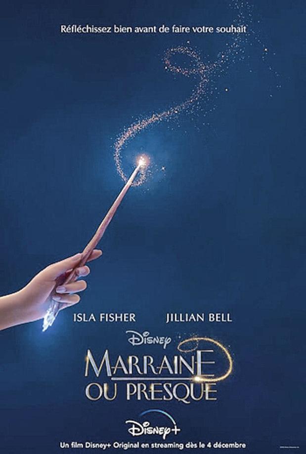 Marraine ou presque, sur Disney+, un divertissement qui manque de... magie