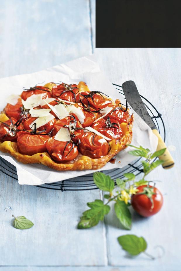 Tatin de tomates et parmesan