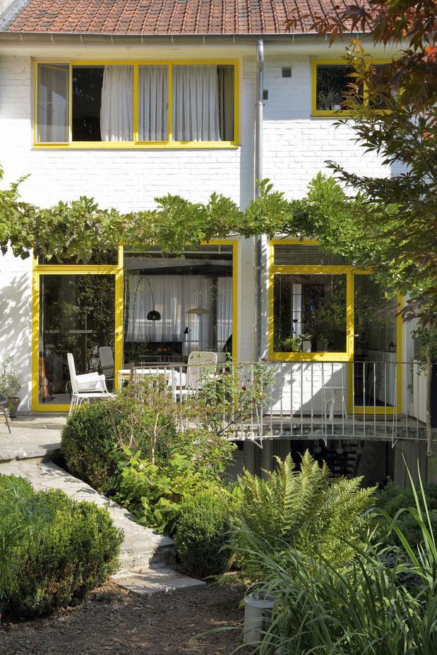 La maison Durieu à Molenbeek, rare témoignage de l'habitat bruxellois des années 50 signée Jacques Dupuis