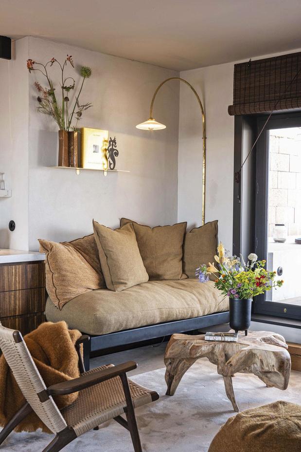 Une location chaleureuse 100% design à la côte belge