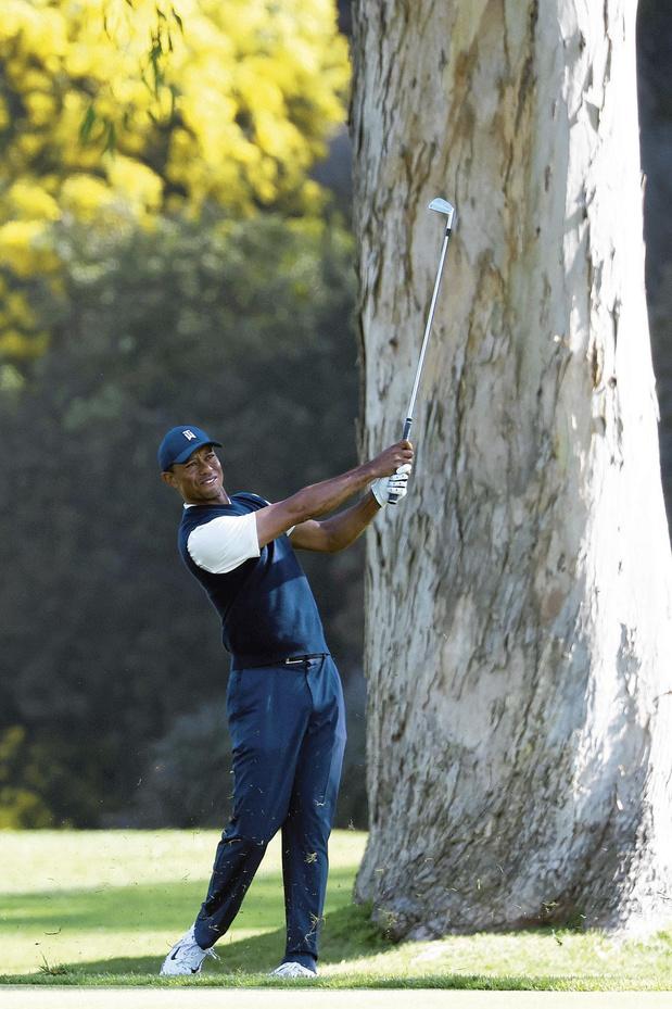 Tiger Woods is er klaar voor
