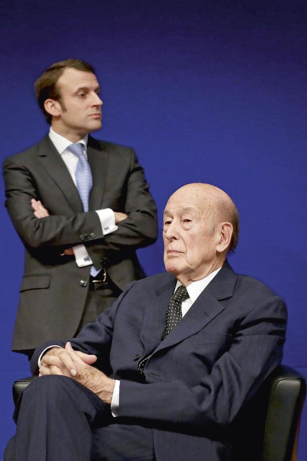Valéry Giscard d'Estaing, un modèle pour Emmanuel Macron