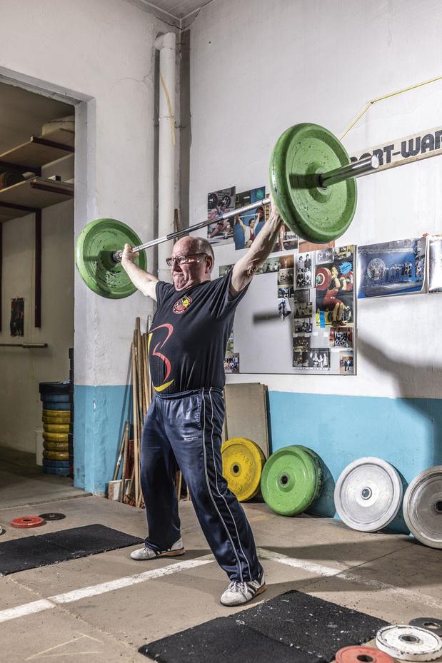 'Ik hef nog altijd 65 kilogram'