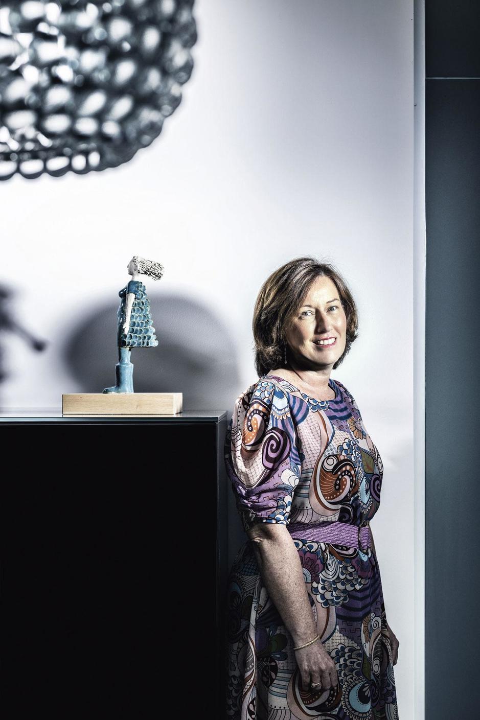 Isabel van Mele (CDO ING België en Nederland): 'Ik heb nooit last gehad van een glazen plafond'