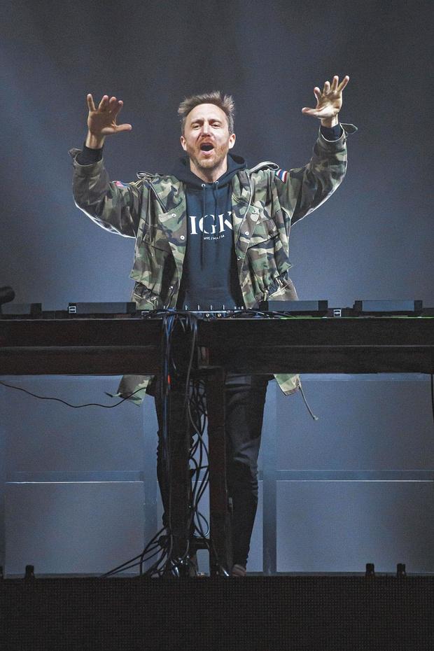 Contrat en or pour David Guetta
