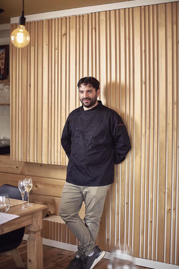 La cacio e pepe de Stefan Marson, chef de 10 Forchette