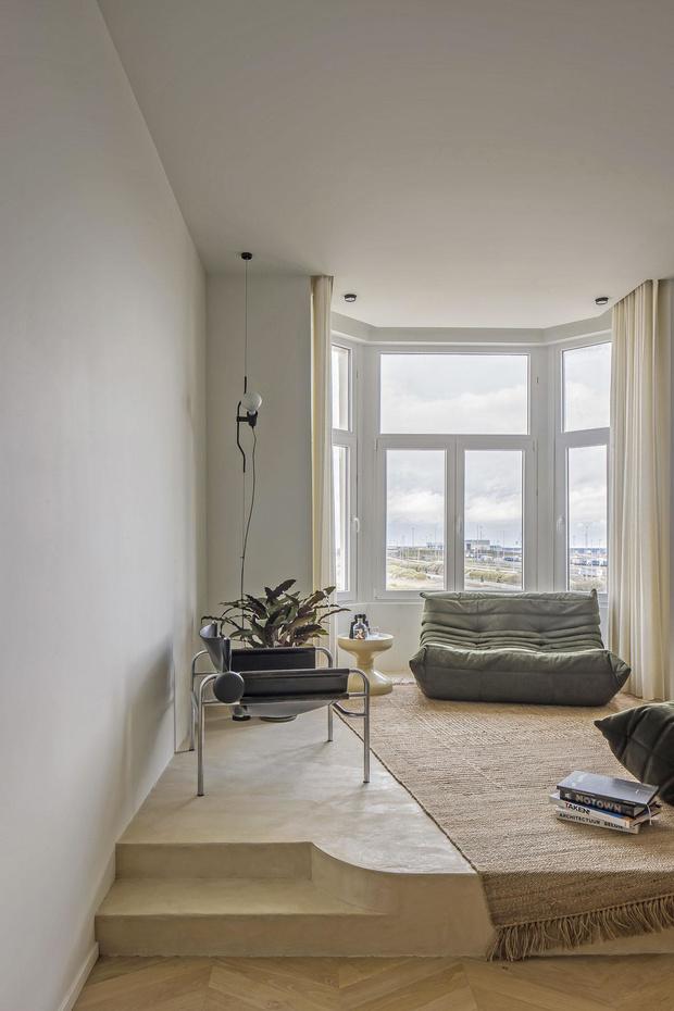 Un appartement zen 100% design à la côte belge