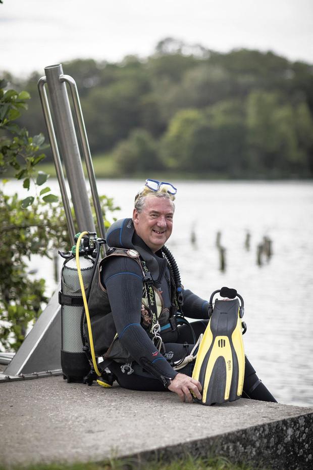Rik Van Bruaene wil blijven duiken