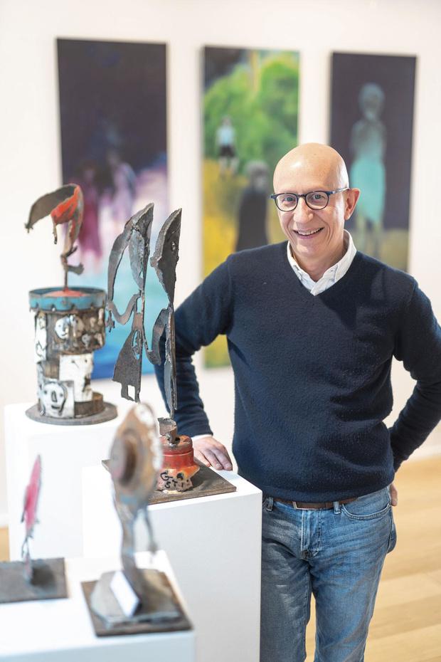 Bruno Matthys a ouvert une galerie d'art