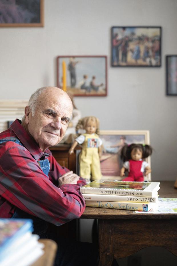Jean-Jacques Detiège est conteur