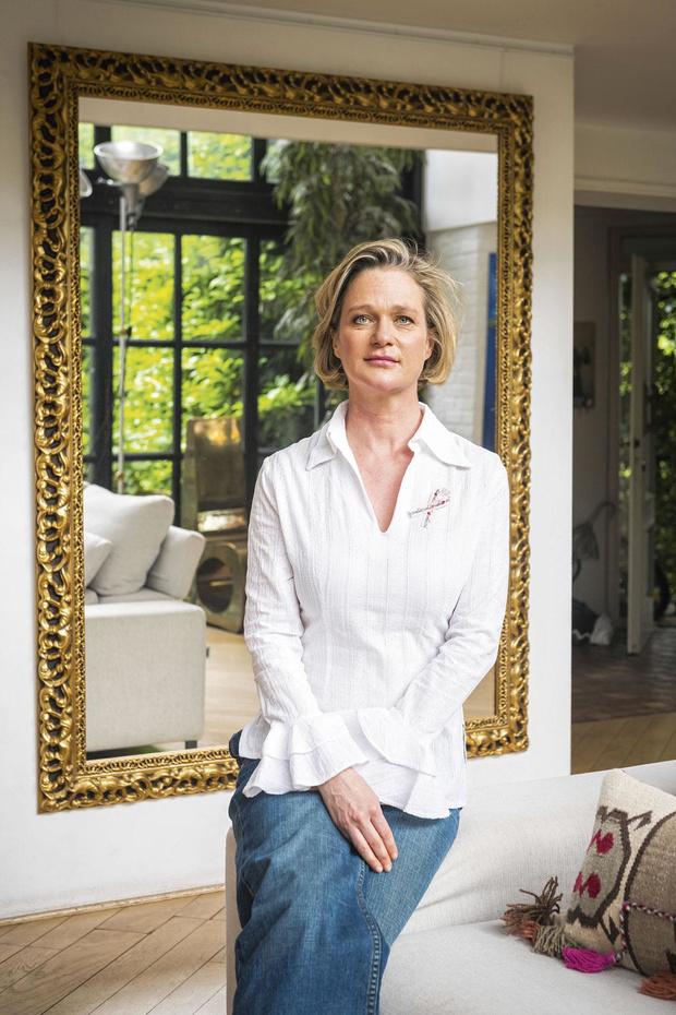Prinses Delphine: 'Je kunt het lijden van borstkankerpatiënten zo veel draaglijker maken wanneer je ze liefdevol omringt'
