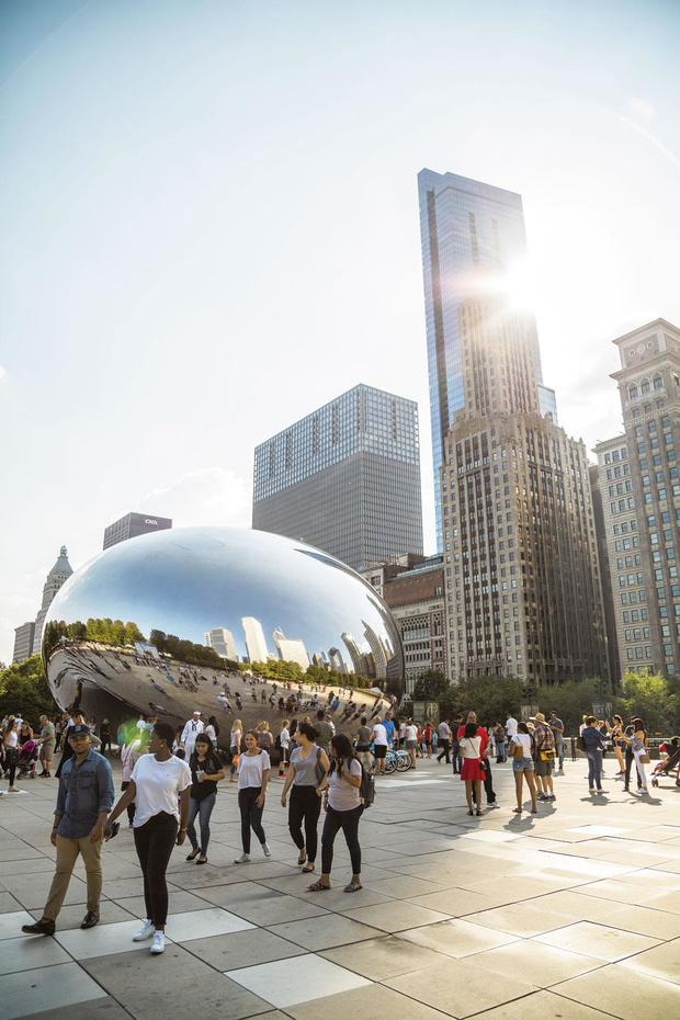 Chicago vue par une Belge