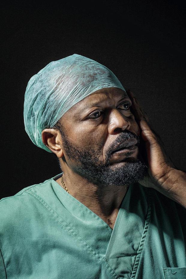 Covid-19: le personnel des hôpitaux Iris-Sud mis à l'honneur