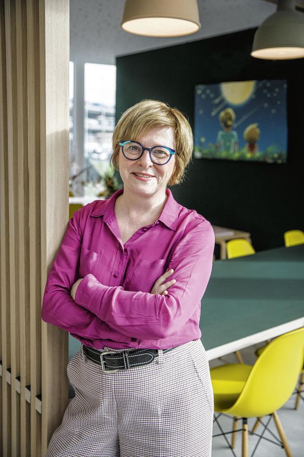 Katia De Greve opent Ronald McDonald-huis