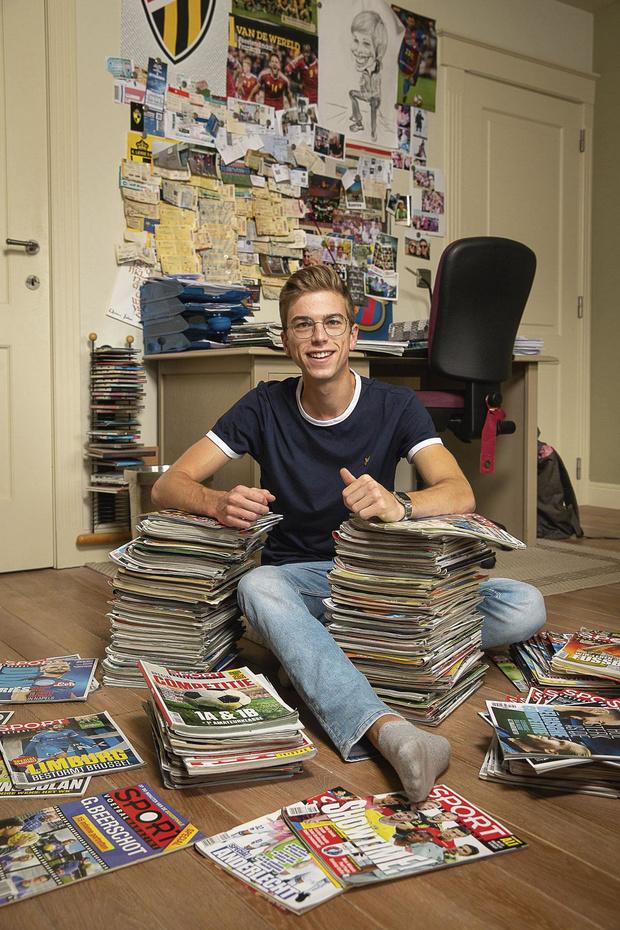 'Ik neem Sport/ Voetbalmagazine altijd en overal mee'