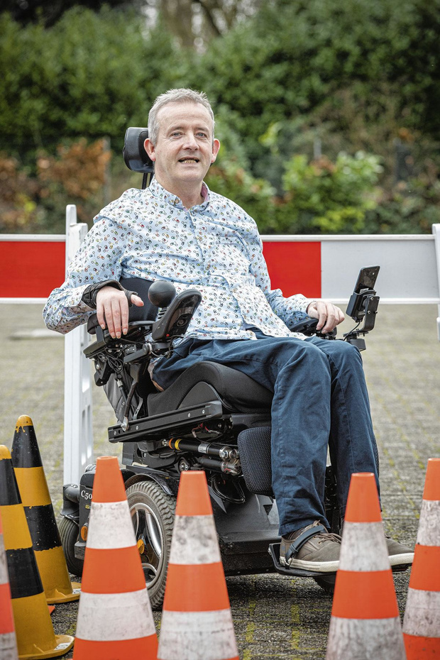 Rudy Claeys speelt voor veilig verkeer