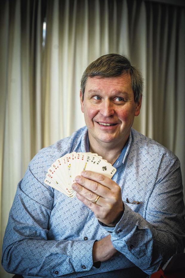 Schaken met kaarten