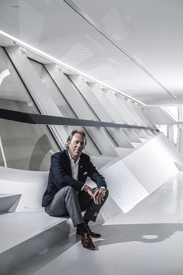 """Jacques Vandermeiren (CEO Port of Antwerp): """"Nous devons être des pionniers"""""""