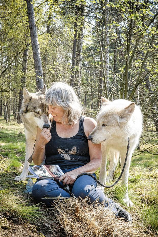 Marina Eggermont neemt het op voor de wolf
