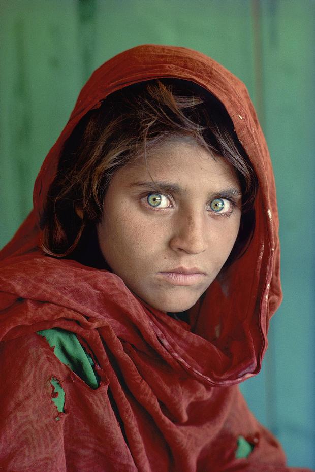 À travers l'objectif de Steve McCurry