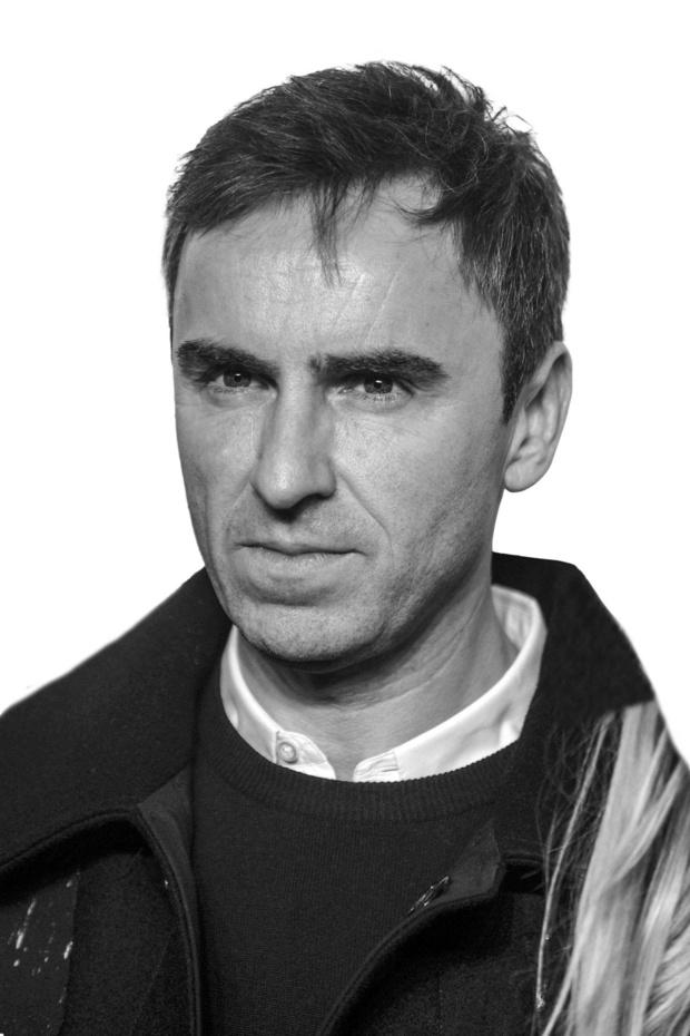 Raf Simons - Toptransfer in modeland