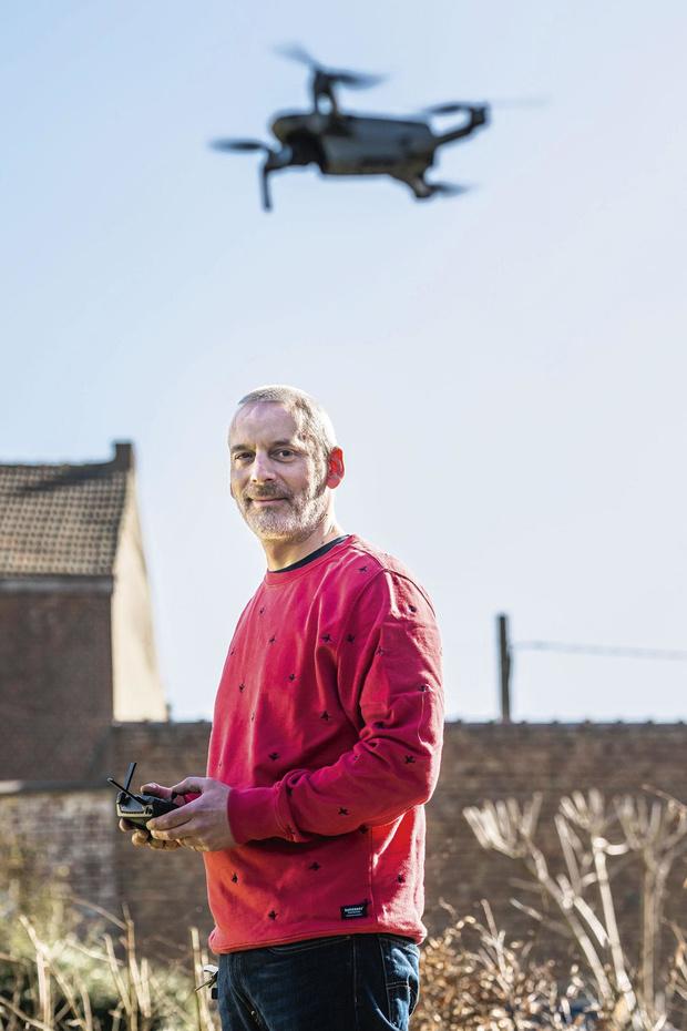 Olivier Hulot forme au pilotage de drones