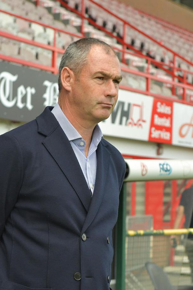 Cercle-coach Paul Clement wil dat zijn ploeg iedere week beter doet