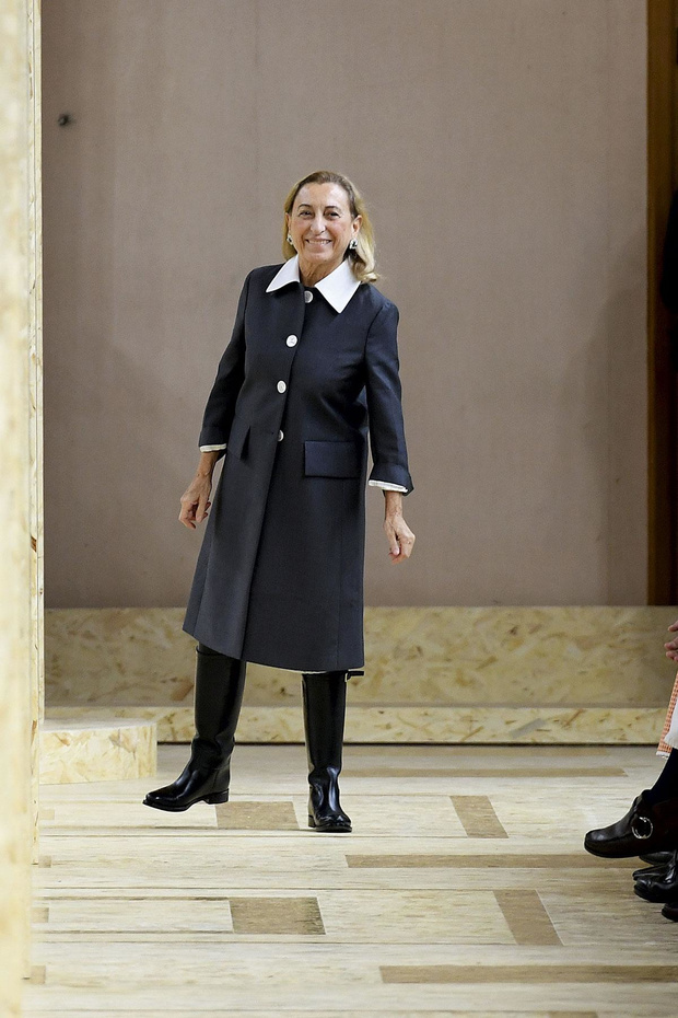 Miuccia Prada, en formation