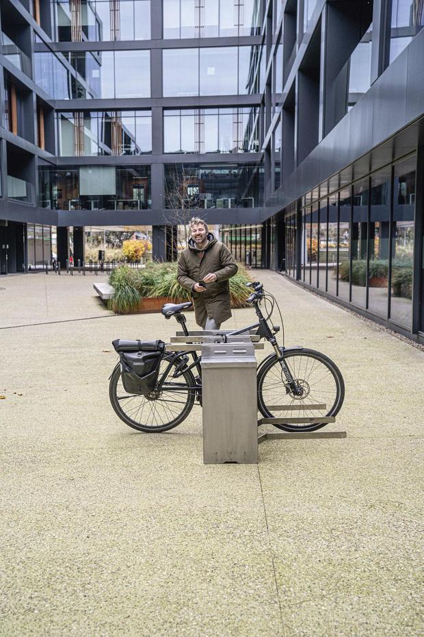 Een veilige haven voor e-bikes