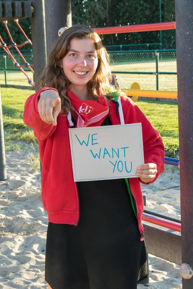Cynthia zoekt enthousiaste jongeren om KLJ Gits te laten herleven
