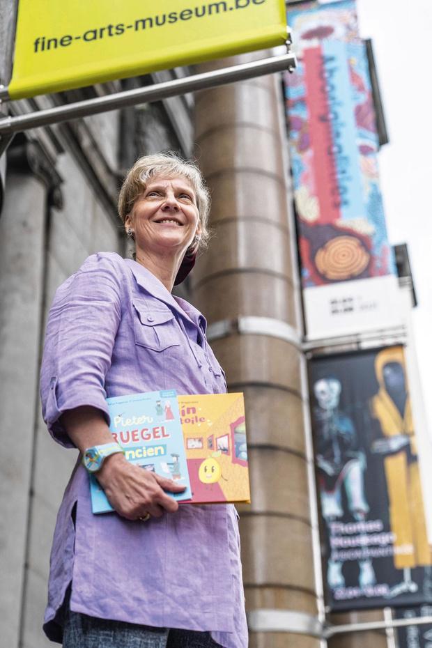 Sophie Roggeman raconte l'art aux enfants