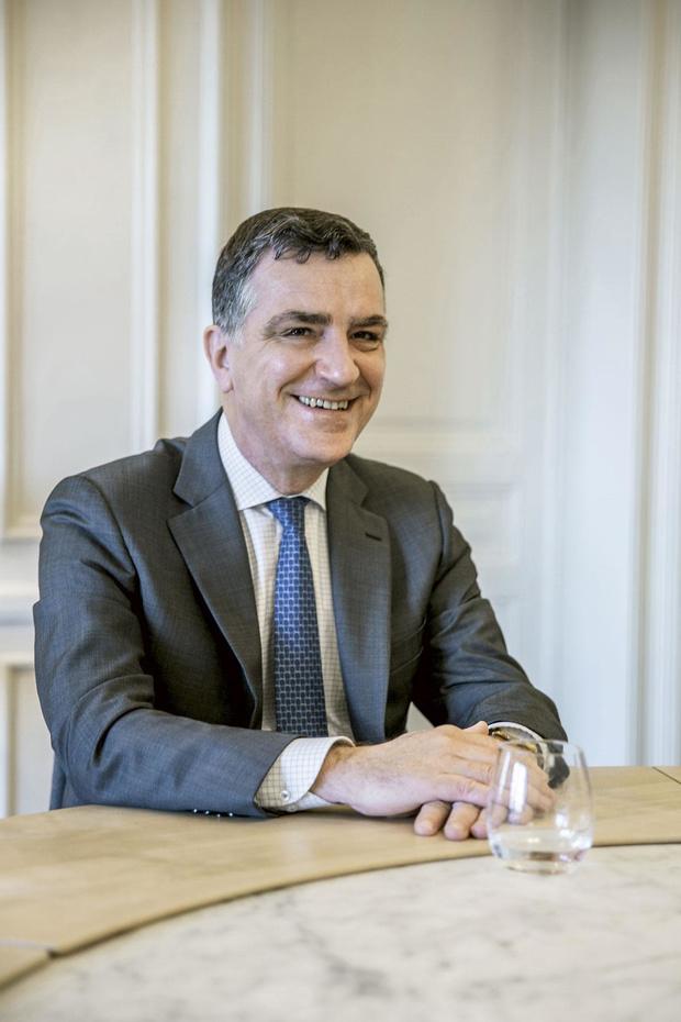 René Havaux (CEO Delen Private Bank) over vermogensbeheer in crisistijden: 'Paniek is een slechte raadgever'