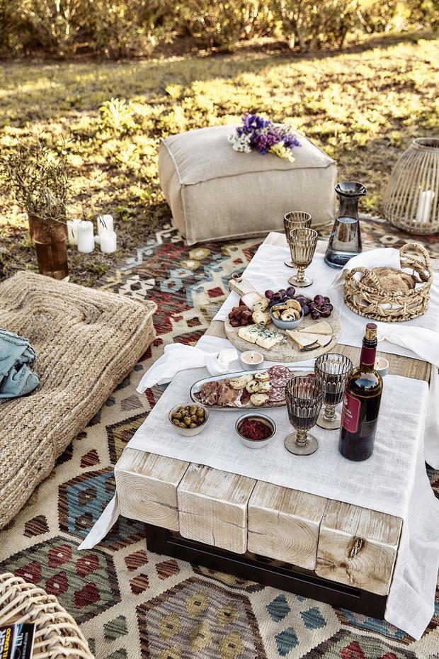 La fête au jardin