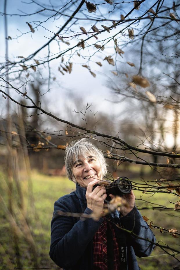Cécile Bolly entre dans l'intimité des arbres