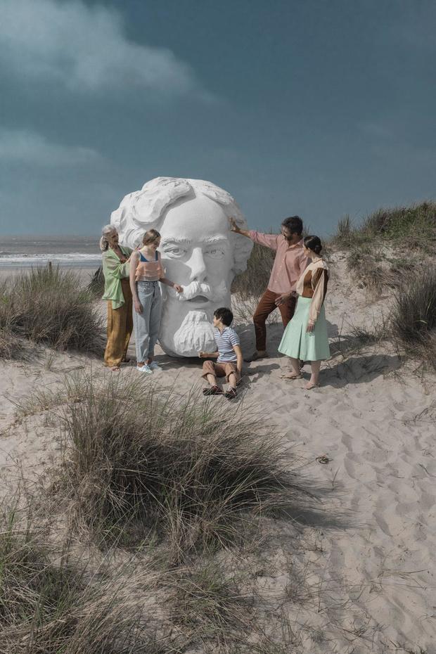Bain de culture à Ostende