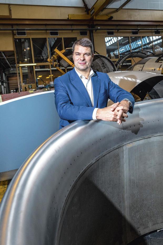 Stéphane Burton, l'itinéraire d'un avocat d'affaires reconverti à l'aéronautique