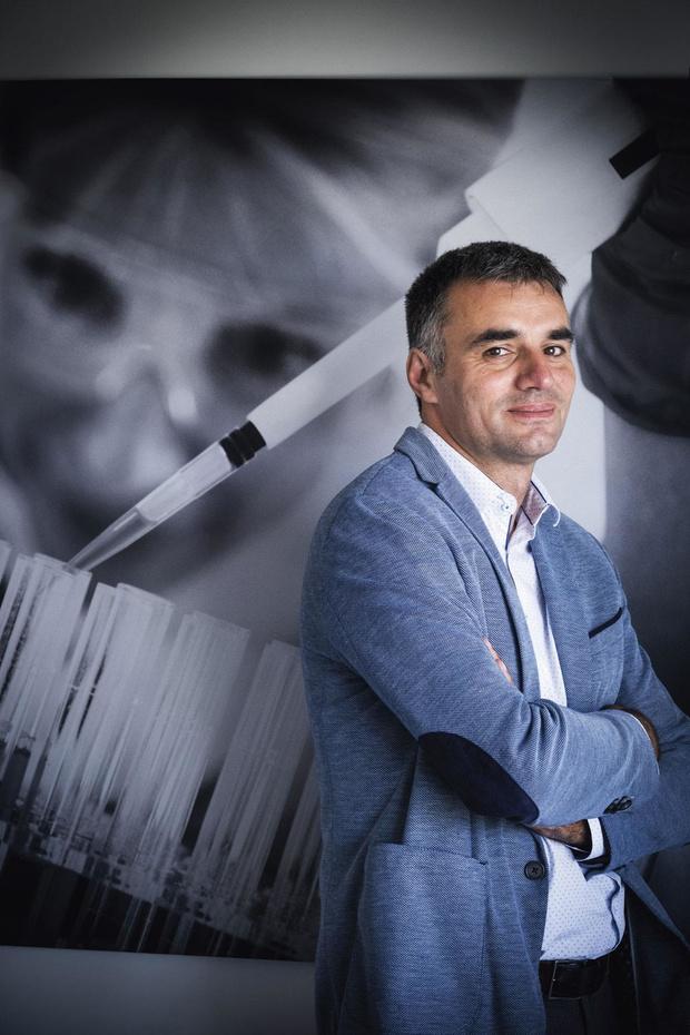"""Vincent Stéphenne (BePharBel): """"un projet pharmaceutique a beaucoup de sens dans nos contrées"""""""