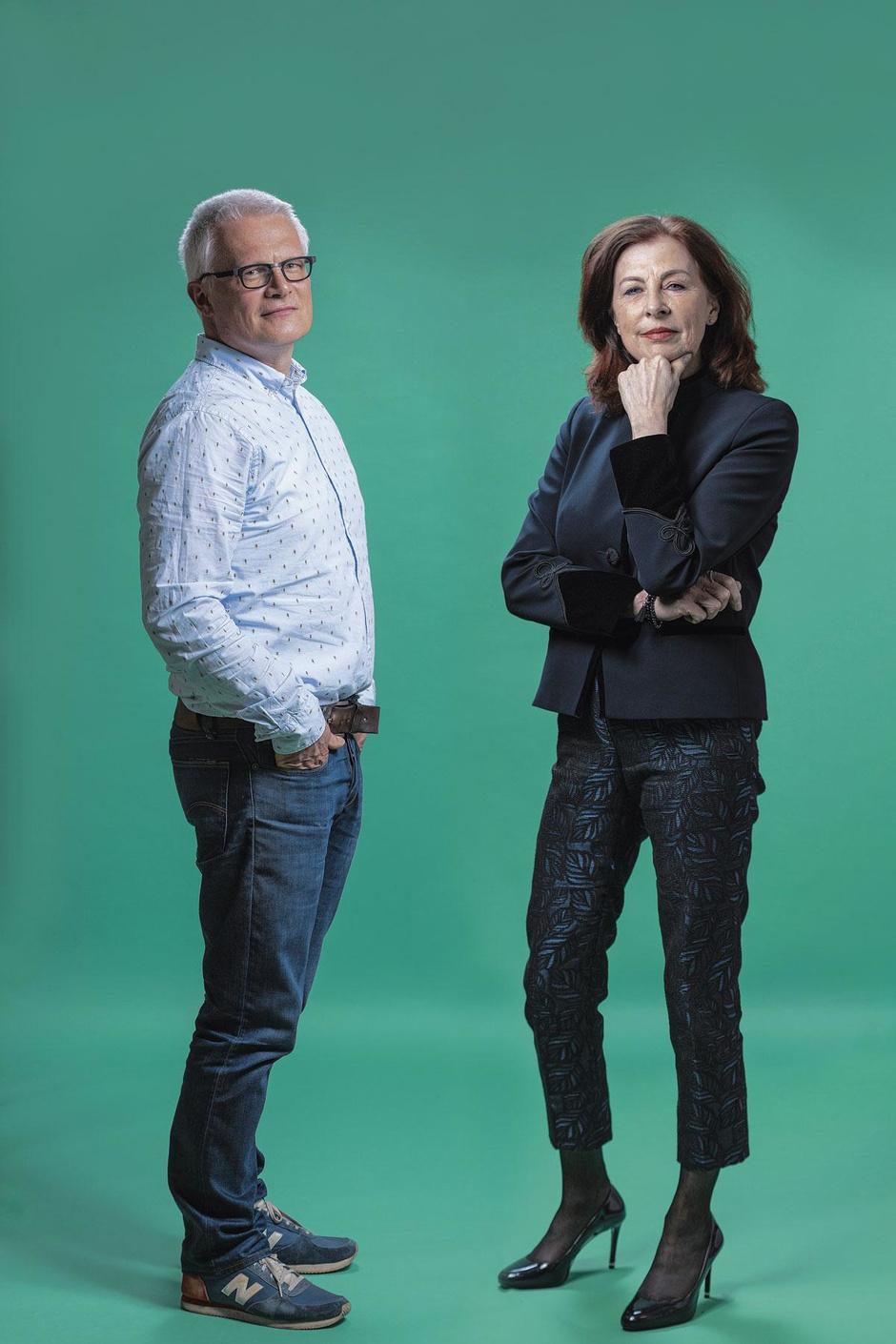 Piet Colruyt en Manon Janssen meten de klimaatkloof tussen België en Nederland
