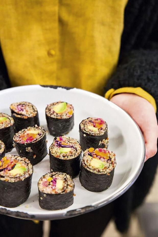 Maki de quinoa aux légumes