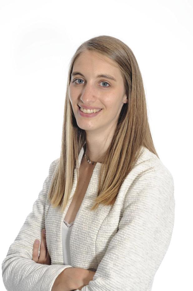 """Le Dr Céline Mehaudens, co-fondatrice de l'ASBL """" Rolling Douche """""""