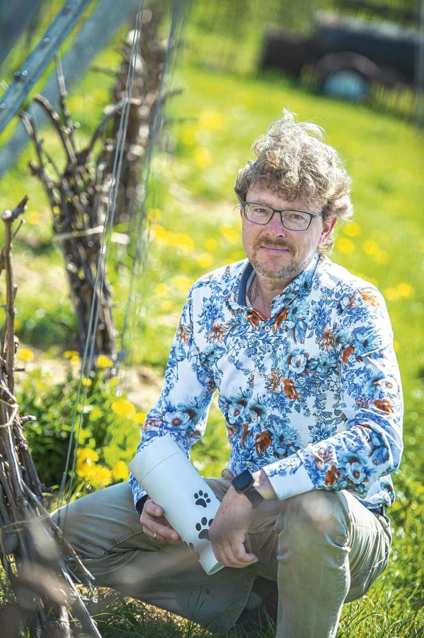 Francky Devalckeneer verzorgt dierenuitvaarten