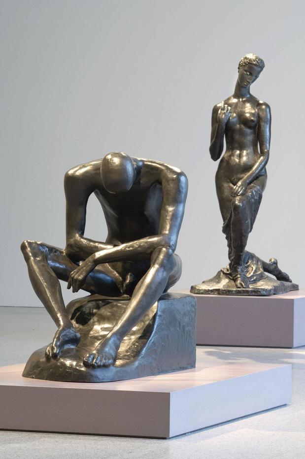 Beuys en zijn 'leermeester' Lehmbruck