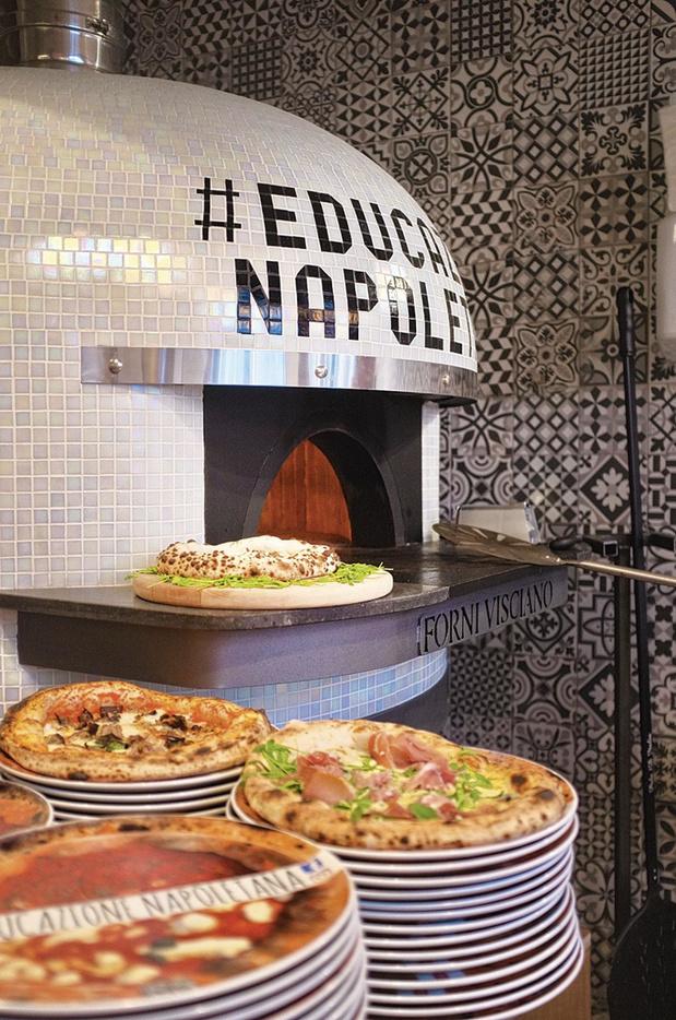 Une pizza comme à Naples
