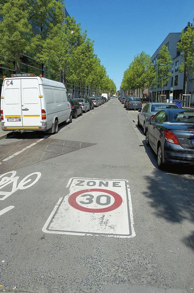 Zone 30: les PV à 46 km/h
