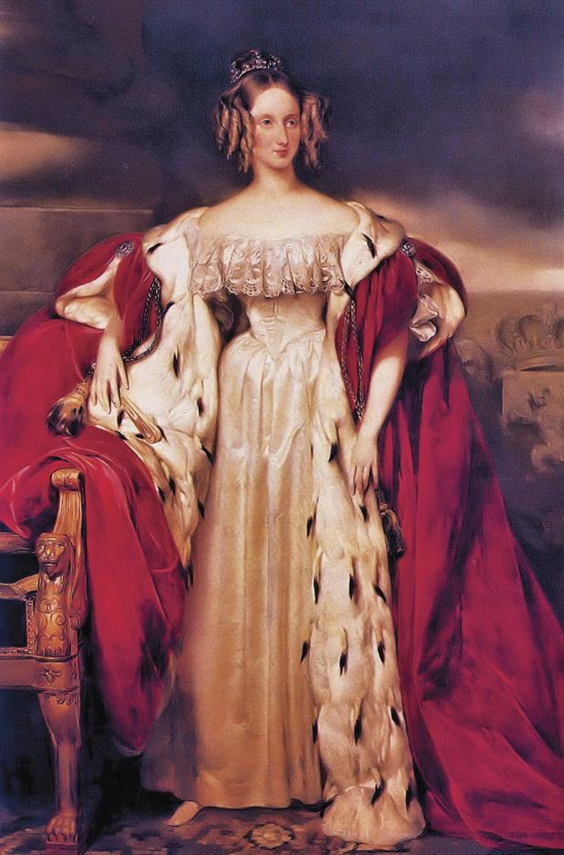 Le 7 novembre 1841, la reine des Belges fait appel au roi des Français