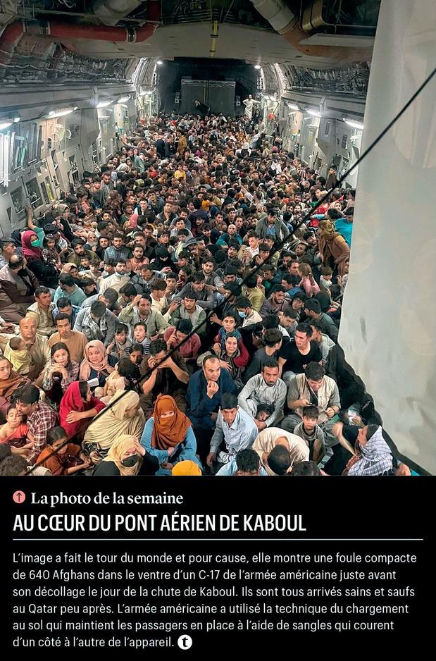 Au coeur du pont aérien de Kaboul