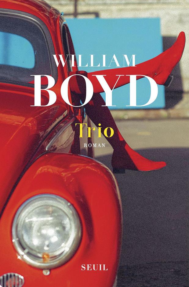 Trio: le nouveau roman de William Boyd