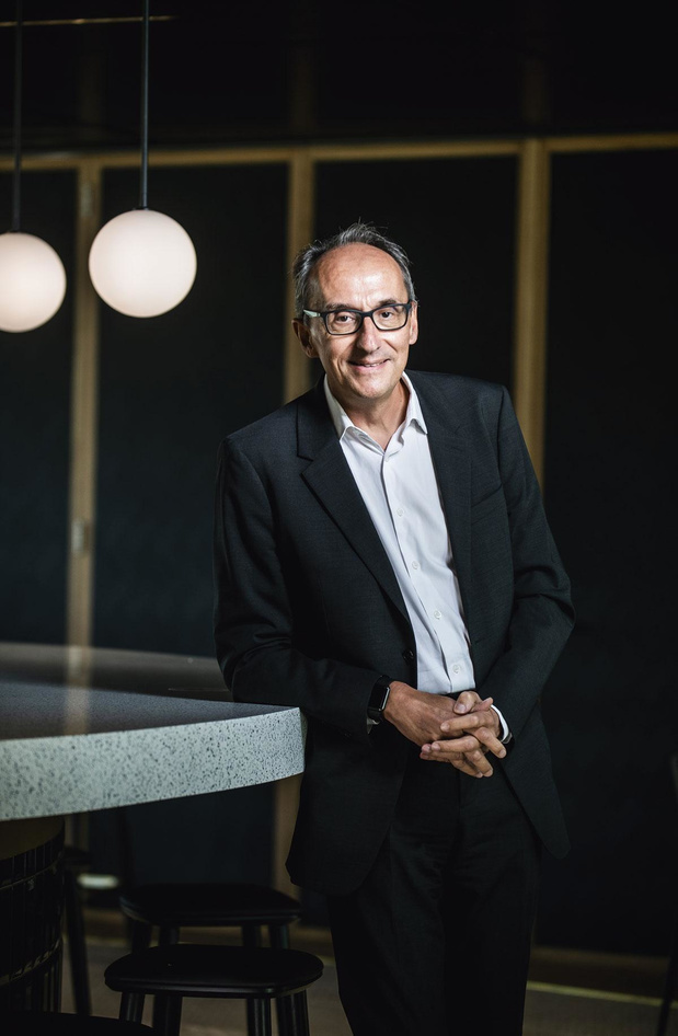 Jean-Christophe Tellier (CEO d'UCB): Innover, toujours innover