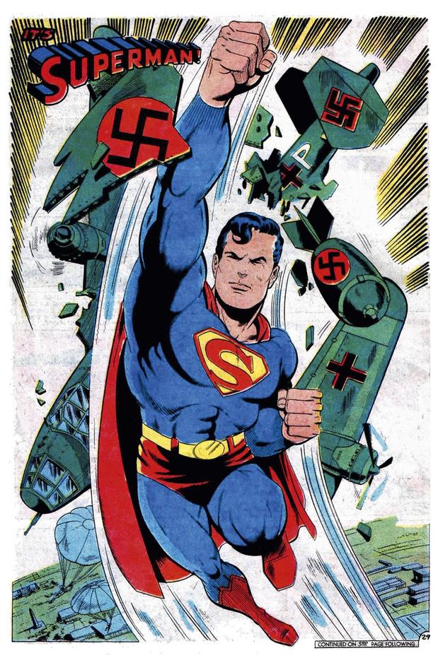 Superman, Batman, Spider-man... Spiegelman!