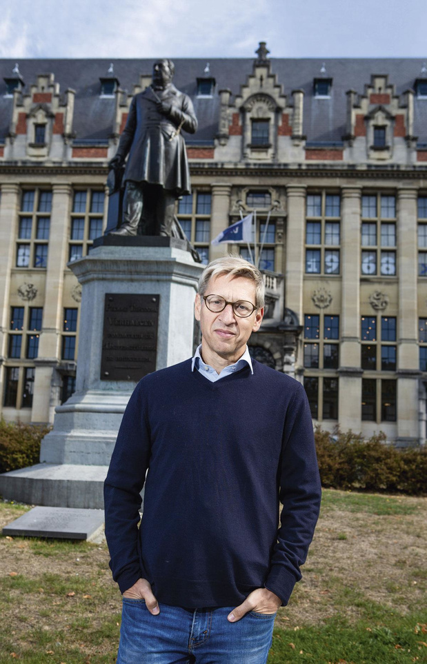 Renaud Witmeur, de cabinettard au poste de CEO intérimaire de Nethys